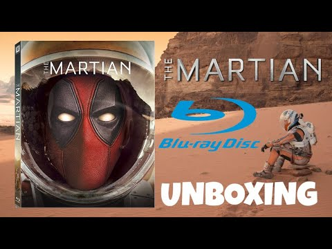 The Martian (2015) Blu-ray Unboxing