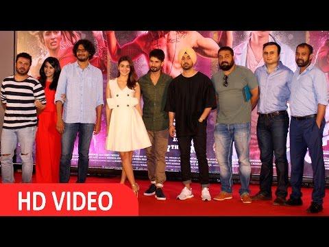 Alia Bhatt & Shahid Kapoor At Press Confrence Of Film Udta Punjab UNCUT