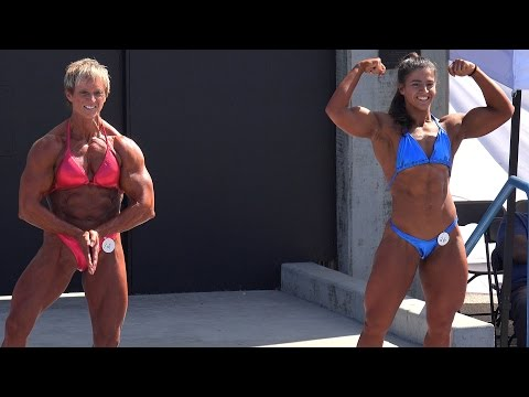 Female Bodybuilding Heavy Weight Routine & Results – Labor Day 2014