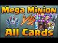 Clash Royale - Mega Minion vs All Cards! How to Counter & Use Mega Minion
