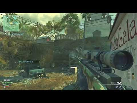 L118A - MW3 L118A Sniper gameplay. This Modern Warfare 3 match I'm using the L118A sniper rifle. I consider this gun the best in its class. It has extremely high dam...