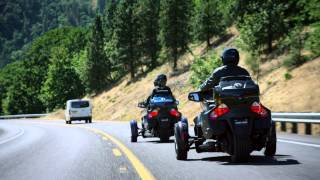 6. The 6-speed transmission of the Can-Am Spyder