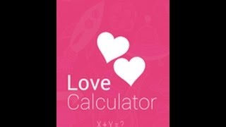 Love Calculator YouTube video