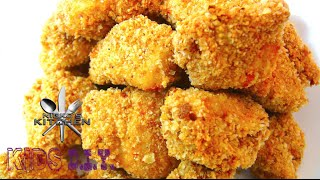 How To Make Chicken Nuggets - Kids DIY Recipe