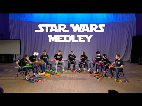 Star Wars Medley on Boomwhackers!