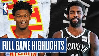HAWKS at NETS   FULL GAME HIGHLIGHTS   January 12, 2020