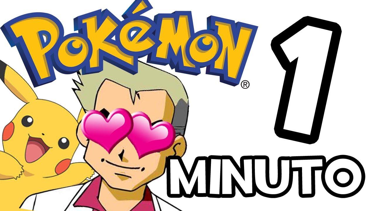 Pokemon en 1 minuto #rubius #rubiusomg