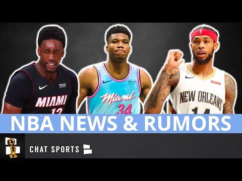 NBA News On Brandon Ingram & Bam Adebayo + Rumors On Giannis Antetokounmpo 2021 Free Agency