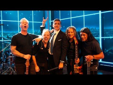 Metallica Week on 'The Late Late Show with Craig Ferguson' (2014) [Full Week]