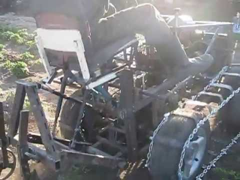 Как сделать самодельный гусеничный трактор видео