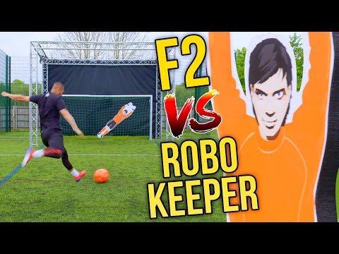 F2 VS INSANE ROBOT KEEPER! 🤖 | Billy Wingrove & Jeremy Lynch