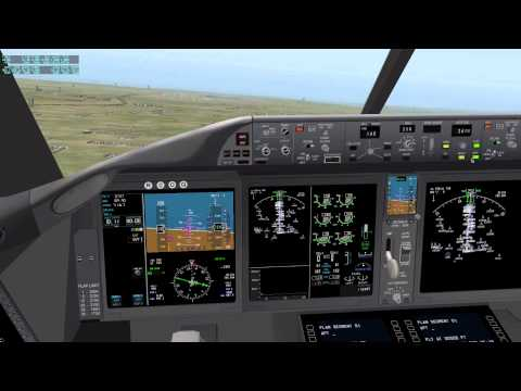 How to do an ILS Landing (X-Plane 10) [HD]