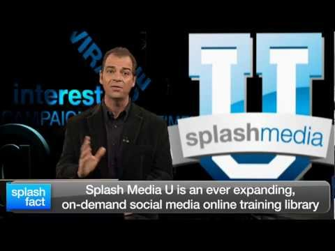 Welcome to Splash Media U – How to Use Social Media for Marketing