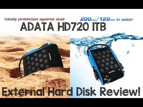 ADATA HD720 1TB External Hard Disk Review