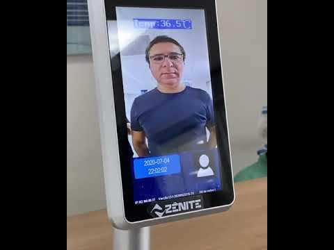 Reconhecimento Facial em hospital