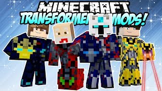 Video NYOBAIN 10+ TRANSFORMERS TERCANGGIH NYATA DI DUNIA MINECRAFT! - MVLOG #30 MP3, 3GP, MP4, WEBM, AVI, FLV Juli 2018