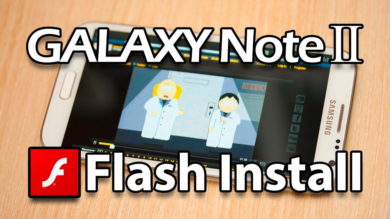 Descargar Flash Player for Samsung Galaxy Note 2 (Download apk direct from Adobe) para Celular  #Android
