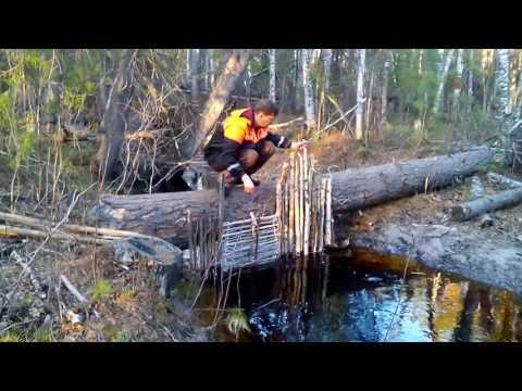 ловля в ручьях видео