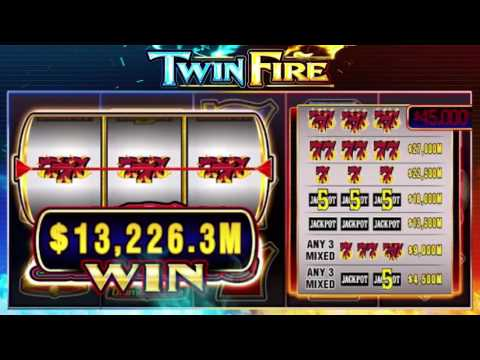 Twin Fire featuring Quick Hit and Hot Shot! Play it now!