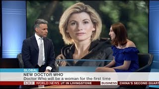 I was really excited to be asked to speak on BBC News about the announcement of the thirteenth Doctor, Jodie Whittaker! I spoke ...