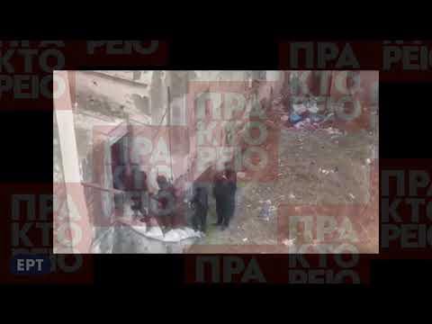 Επιχείρηση της αστυνομίας για ναρκωτικά στην οδό Αντωνιάδου