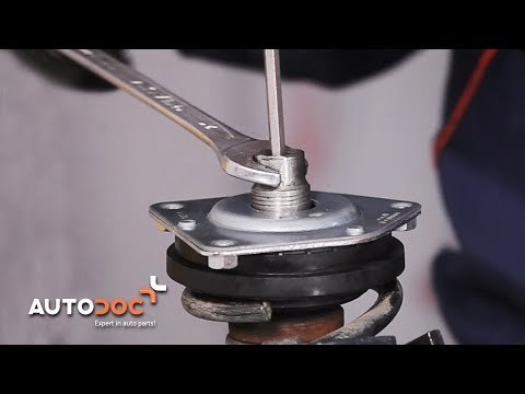 How to replace strut mount MERCEDES-BENZ A W169 TUTORIAL | AUTODOC