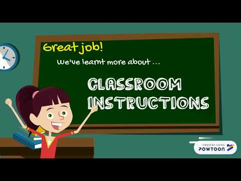 Classroom Instructions ︳English for Kids ︳Grammar for Kids