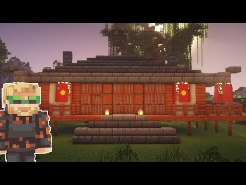 HOW TO BUILD PewDiePie's Japanese House In Minecraft!