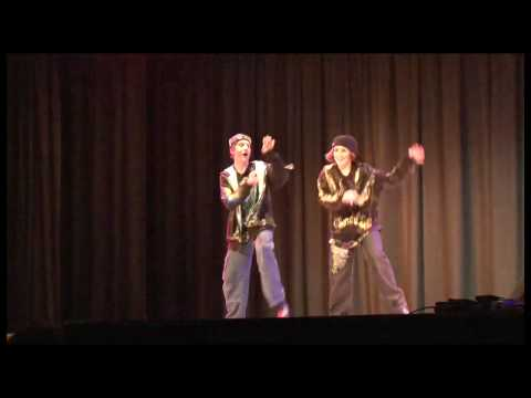 Cameron Covell And Brandon Bassir Talent Show