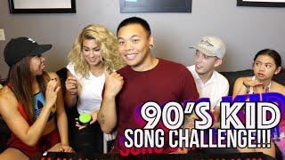 Video 90's Kid Song Challenge - Jasmine & Tori Kelly vs TJ Brown & Justine | AJ Rafael MP3, 3GP, MP4, WEBM, AVI, FLV Juni 2018