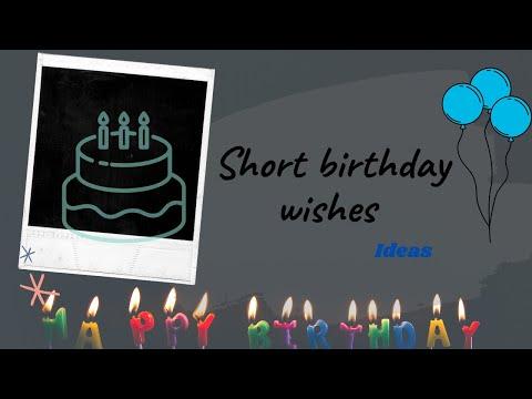 Short birthday wishes || birthday messages|| Instagram || WhatsApp || Facebook || Amazing wizard
