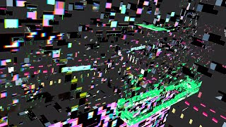 A trip into abstract architecture. Single Quartz composition, 3D structure + environment made of artworks created with Glitch Saver 2.0.1 (http://www.mediafi...