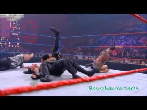 Batista Vs. Rey Mysterio Vs. Cm Punk Vs. The Undertaker Highlights - HD Bragins Rights 2009