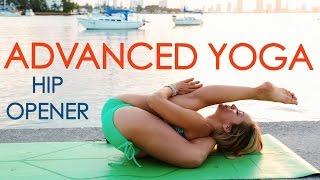 Video Advanced Yoga Week Three: Hip Openers and Leg Behind the Head with Kino MP3, 3GP, MP4, WEBM, AVI, FLV Maret 2018