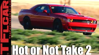 2016 Dodge Challenger Hellcat Take 2 Review - TFL Leaderboard Hot or Not Ep.14 by The Fast Lane Car