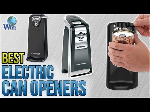 10 Best Electric Can Openers 2018