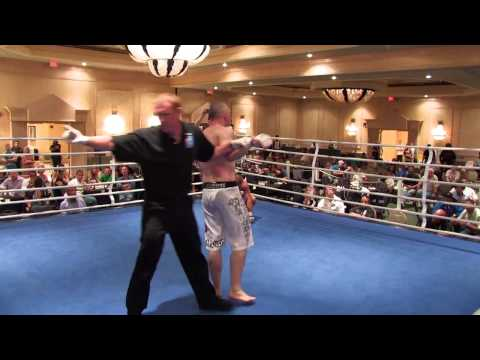 amatuer - May 14th Bay Point Marriot , One hell of a fight! Watch the whole fight then comment on how you would have scored it. The doc stopped it with a mere 30 secon...