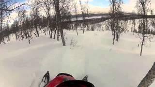 6. snowmobile polaris RMK 700