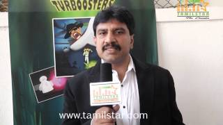 Arun Speaks at The Turboosters Film Press Meet