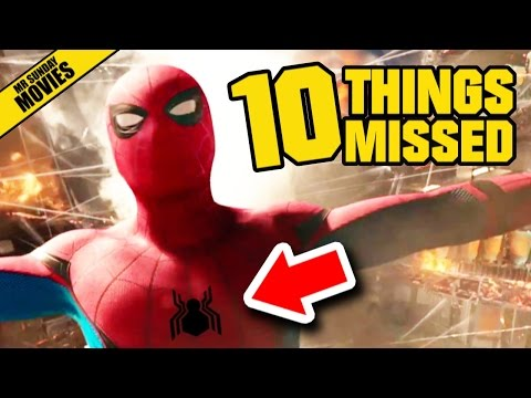 Easter Eggs and References in the Second Trailer for SpiderMan