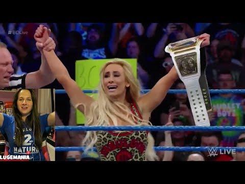 WWE Smackdown 4/10/18 Carmella MITB cash in
