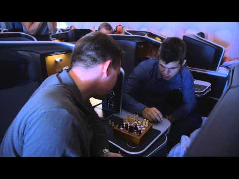 The 30 000 feet chess challenge!