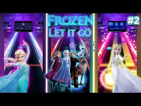 Tap Music 3D - Let It Go Sing-along Frozen | BeastSentry