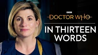 Doctor Who in Thirteen Words