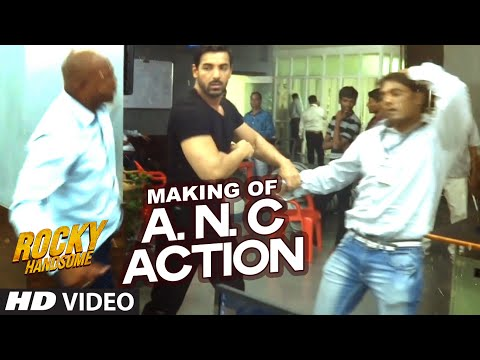 ANC Police Station Action Making Rocky Handsome