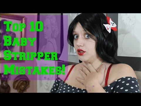 Top Ten Newbie Stripper Mistakes