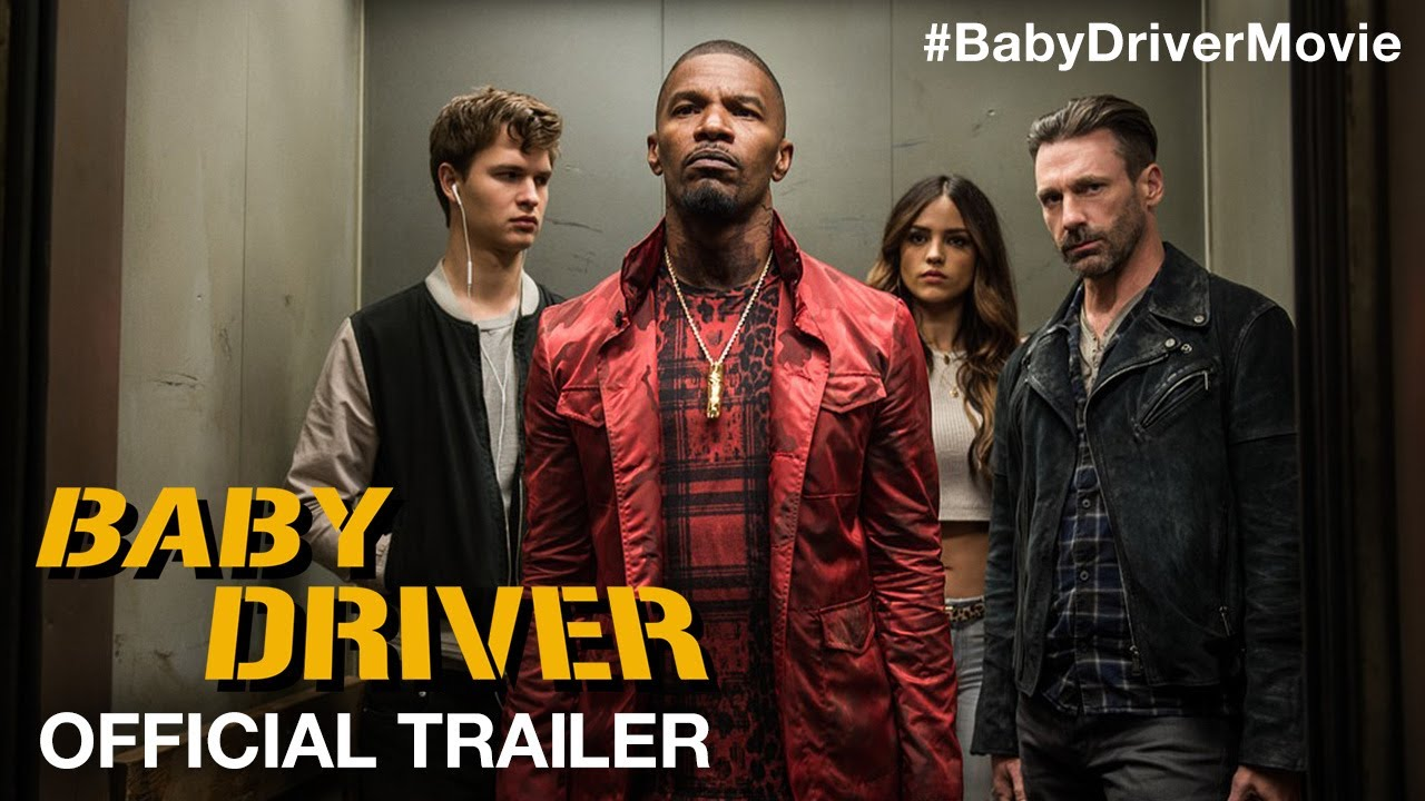Money, Sex & Action Takes Ansel Elgort Right Back In in Edgar Wright's 'Baby Driver' (Trailer) with Jamie Foxx, Kevin Spacey & Jon Hamm