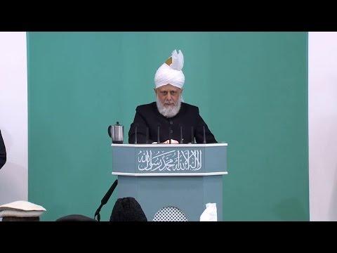 Friday Sermon: Khalifatul Masih II – Pearls of Wisdom