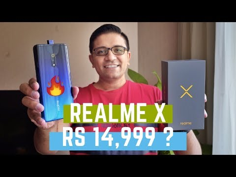 THIS IS REALME X Unboxing - Rs 14,999 - AMOLED | GG5 | 48MP | 8GB + 128GB