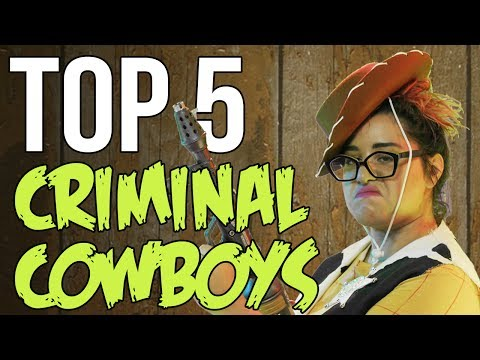 MOST WANTED CRIMINALS  Top 5 Killer Cowboys from the Old West // Dark 5 | Snarled